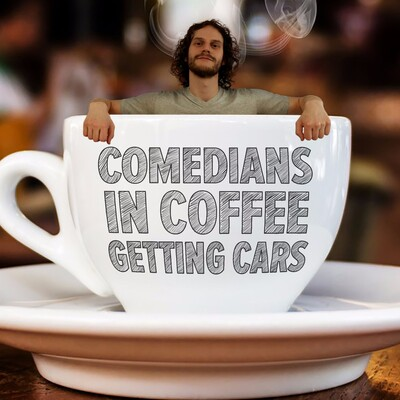 Comedians in Coffee Getting Cars