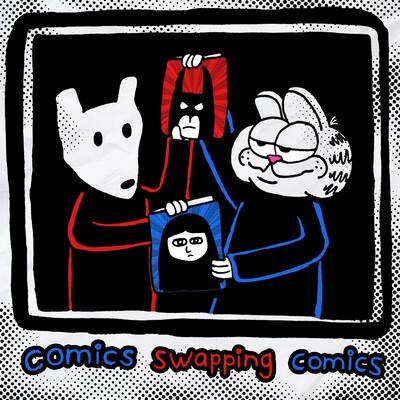 Comics Swapping Comics