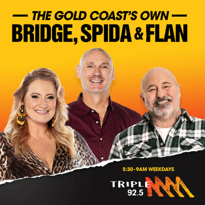 Bridge and Spida - Triple M 92.5 Gold Coast