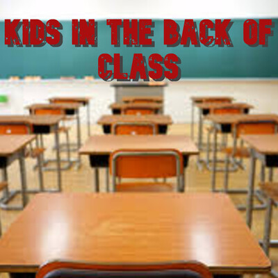 Kids in the back of class