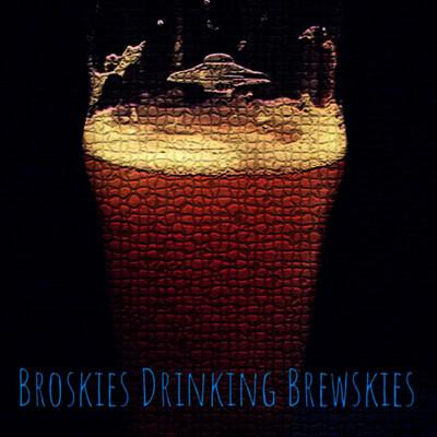 Broskies Drinking Brewskies