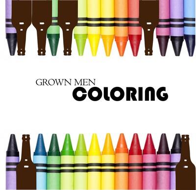 Grown Men Colouring