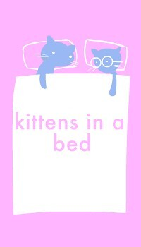 Kittens In A Bed!