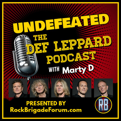 Undefeated - the Def Leppard Podcast