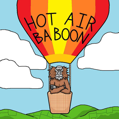 Hot Air Baboon