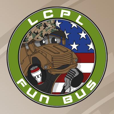 LCpl Fun Bus Comedy Podcast