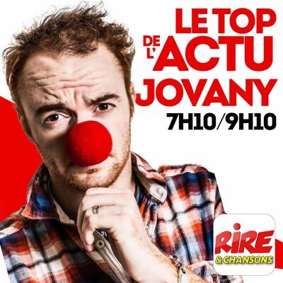 Jovany - Le top de l'actu sur Rire & Chansons