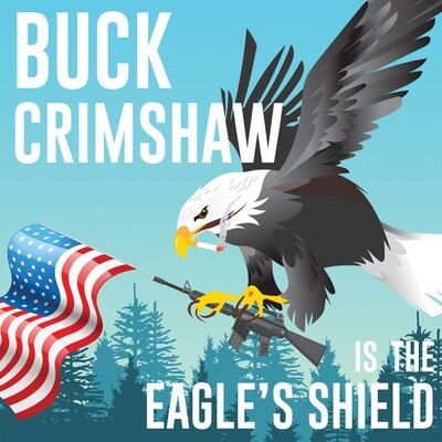 Buck Crimshaw is The Eagle's Shield
