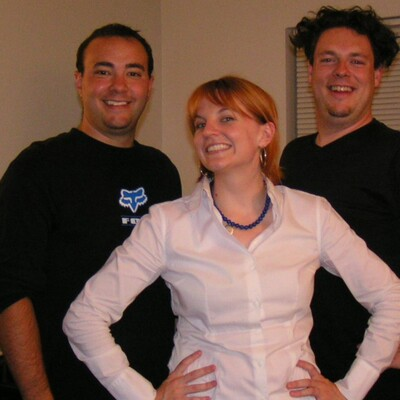Mat, Mike and Kristin