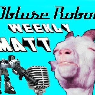 Obtuse Robot With Matt