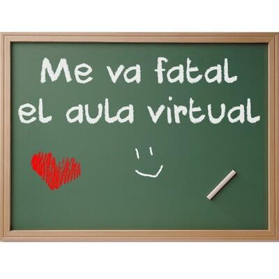 Me va fatal el Aula Virtual