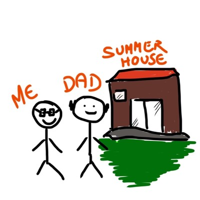 Me, my Dad and his Summerhouse