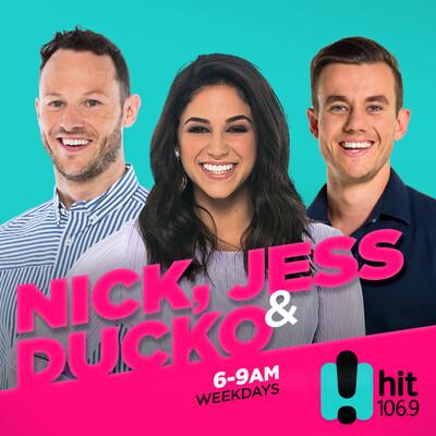 Nick, Jess & Ducko - Hit106.9 Newcastle