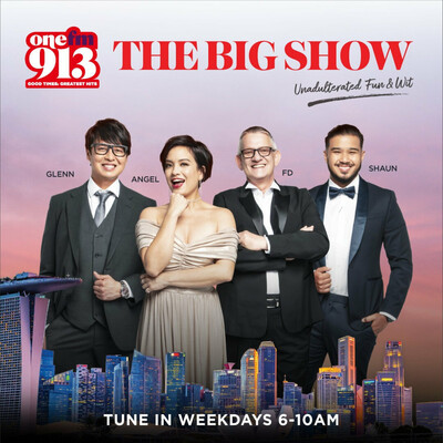 ONE FM 91.3's Glenn and The Flying Dutchman