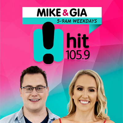 Mike & Gia - hit105.9 Central West