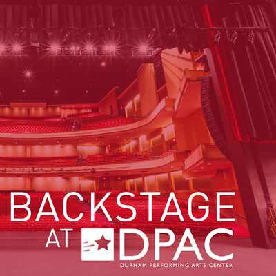 Backstage at DPAC