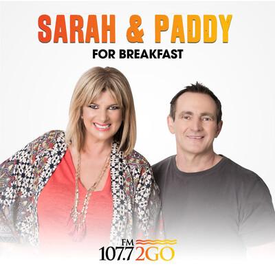 Sarah and Paddy