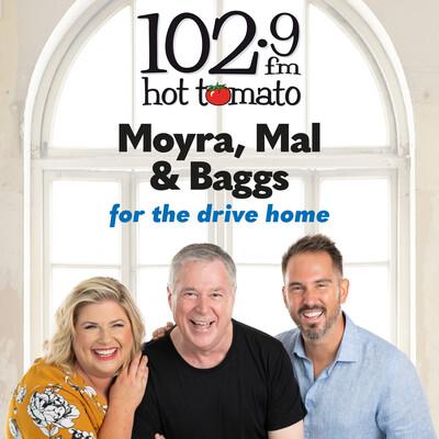 Moyra, Mal & Baggs on 1029 Hot Tomato