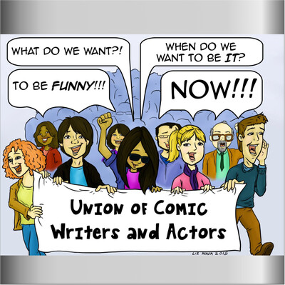Union of Comedy Writers & Actors's podcast