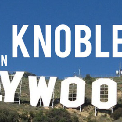 Cecily Knobler in Hollywood