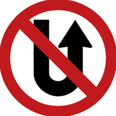 Upside Down U-turn