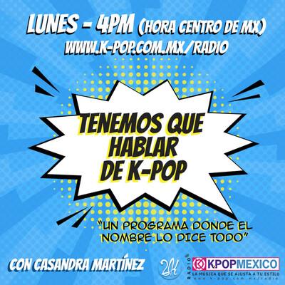 Tenemos que hablar de k-pop