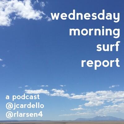 Wednesday Morning Surf Report