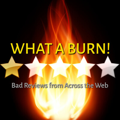 What A Burn! Bad Reviews from Across the Web