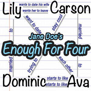 Enough for Four – The Jane Doe Polyamory Poly Novel Experiment