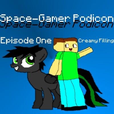 Space-Gamer PodIcoN