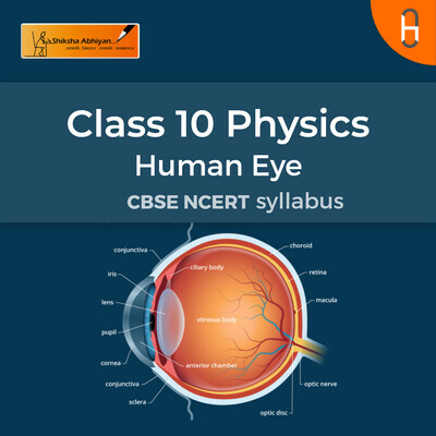 Theory Part 1 | CBSE | Class 10 | Physics | Human Eye