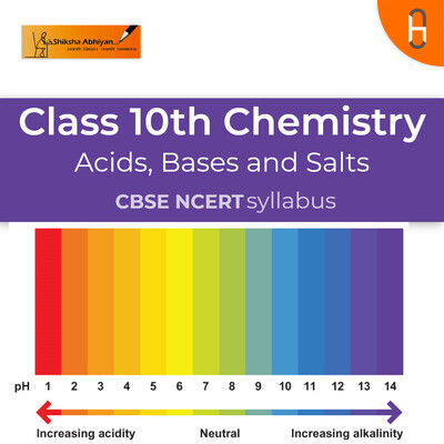 Que 1 set | CBSE | Class 10 | Chemistry | Acids, Bases and Salts