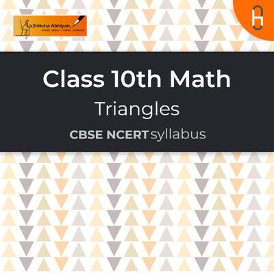Question set 3   CBSE   Class 10   Math   Triangles