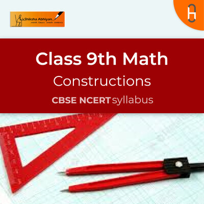 Theory & Questions | CBSE | Class 9 | Math | Constructions