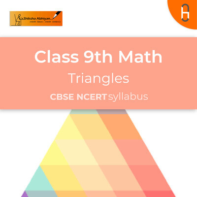 Theory & Questions   CBSE   Class 9   Math   Triangles