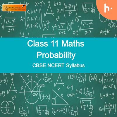 Questions Set-1 | CBSE | Class 11 | Maths | Probability