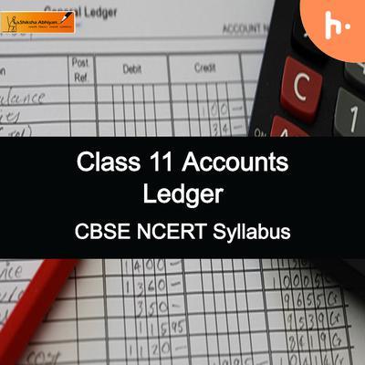 Theory Set | CBSE | Class 11 | Ledger