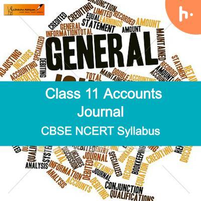 Important Journal   CBSE   Class 11  