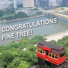 Congratulations Pine Tree