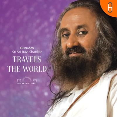 Gurudev Travels The World