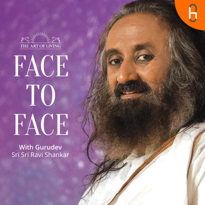 Face2Face with Sri Sri Question on Success - How to Feel Secure in Life