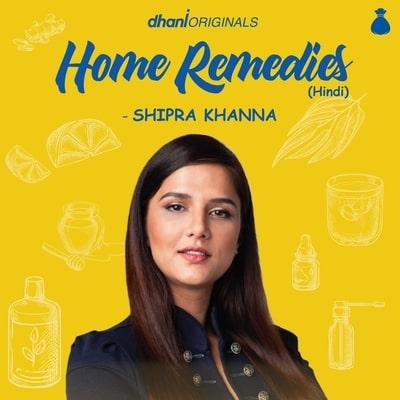 Home Remedies by Shipra Khanna (Hindi)