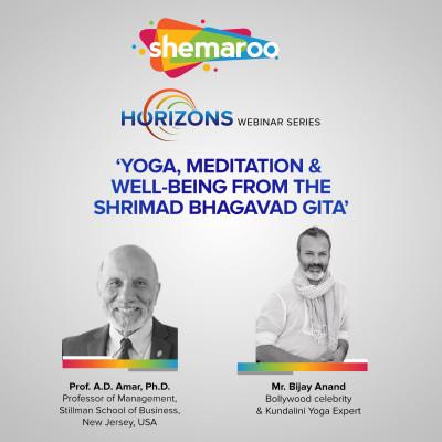Yoga Meditation & Well Being from the Shrimad Bhagavad Gita