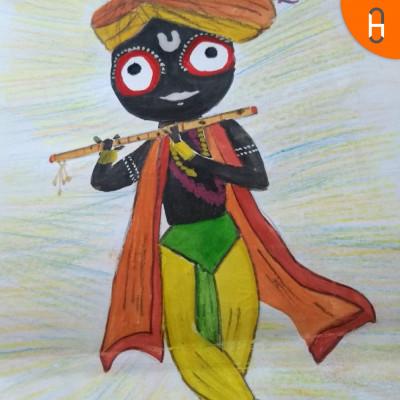 Hanumanji eats up the Sun