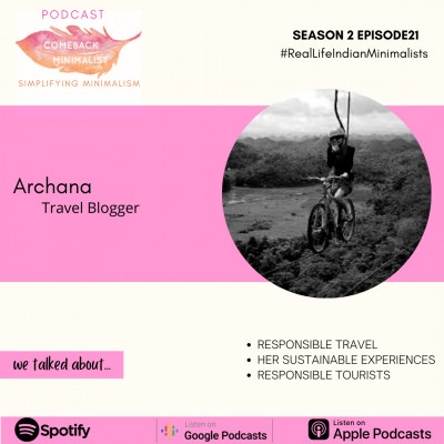 S2 E21: Responsible Travel ft. Archana Singh