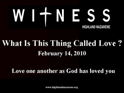 Highland Nazarene - What Is This Thing Called Love