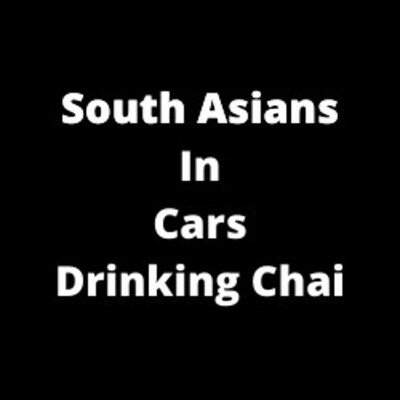 South Asians in Cars Drinking Chai
