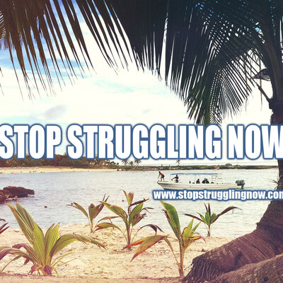 Stop Struggling Now - We help Improve your Personal and Business Wealth Mindset