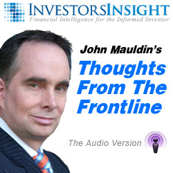 Thoughts From The Frontline Podcast by John Mauldin
