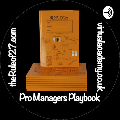 Pro Managers Playbook by Martin Knowles on Virtual Academy (virtualacademy.co.uk)